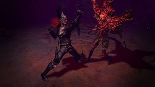 Path of Exile - Obsidian Seraph Armour Set
