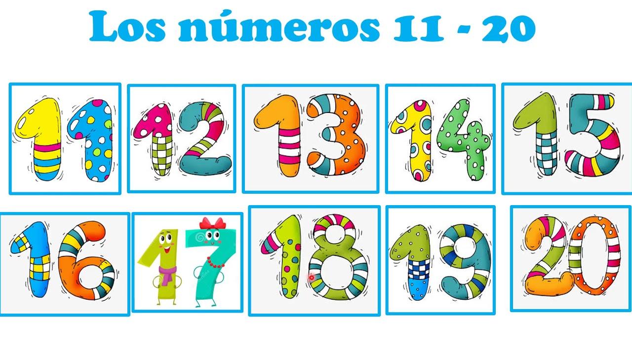 Spanish Number 11-20