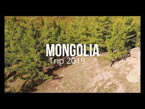 Mongolia Trip 2019 (Mongolia by drone 4K UHD)