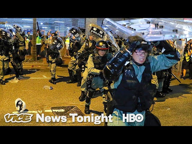 Hong Kong Thug Takeover & Boris Johnson: VICE News Tonight Full Episode