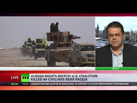 Under The Rubble: US coalition killed 84 civilians in Raqqa
