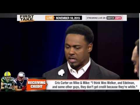 ESPN First Take   Cris Carter