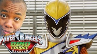 GOLD RANGER! Power Rangers Dino Charge Recaps : Black Nerd