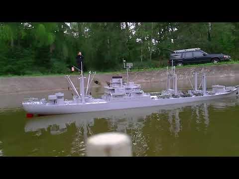 USS Mercury (AKS 20), sinking rc ship