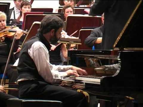 M. Ravel, Piano Concerto in G - III. Presto,  Paul Gulda (Piano), Dariusz Mikulski (Conductor)
