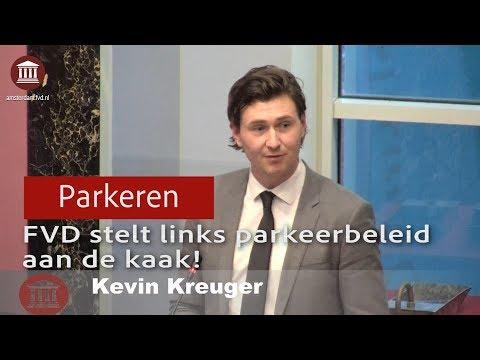 Kevin Kreuger (FVD) legt zwakke plek links parkeerbeleid bloot