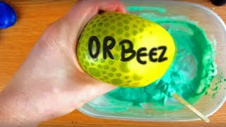How To Make Orbeez, BEADS and FOAM SLIME with Balloons - Slime Balloon Tutorial