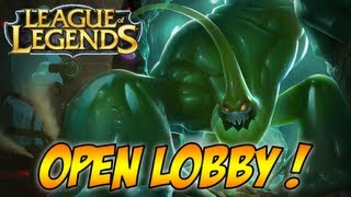 League Of Legends - Gameplay - OPEN LOBBY (Zac Gameplay) - LegendOfGamer