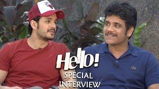Akkineni Nagarjuna and Akhil Akkineni Special Interview About Hello Movie