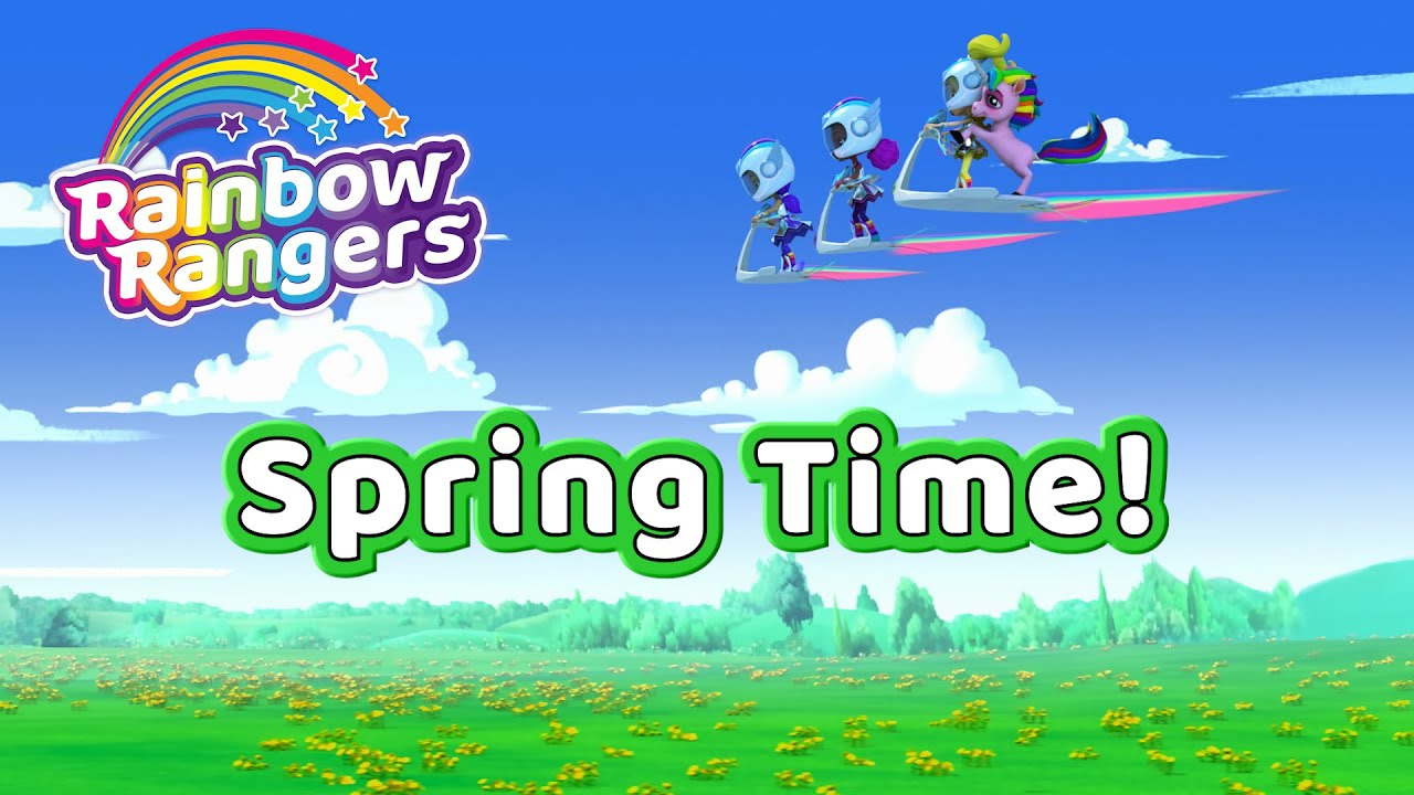 Spring Time Compilation | Rainbow Rangers Episodes