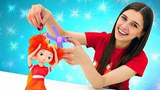 Сказочный патруль в ToyClub. Алёнка и Маша ищут Варю - Мультики с куклами