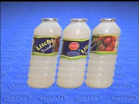 Pran Litchi Juice 20 sec