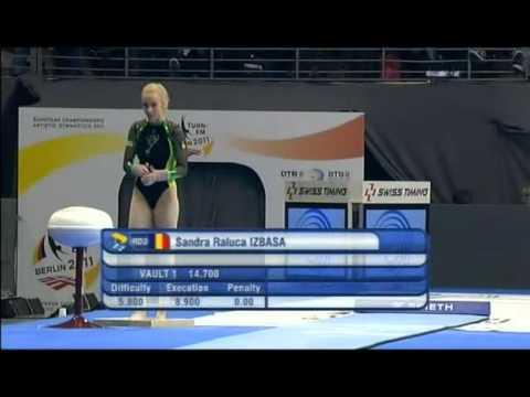 Vault Final BBC 2011 European Gymnastic Champions