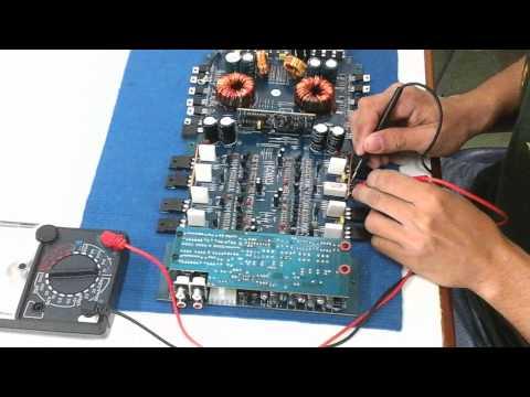 ซ่อมเพาเวอร์แอมป์รถยนต์ โดยนักเรียนแสงทองโทรทัศน์ HD