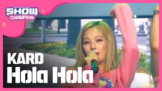 Download Video Show Champion EP.238 KARD - Hola Hola [카드 - 올라 올라 ] MP3 3GP MP4