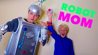 I Turned My Mom Into A Robot!