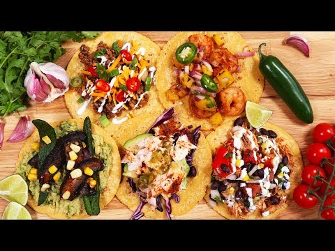 5 Variations on Tacos Under 500 Calories