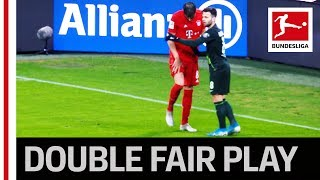 Great Fair Play Gesture - David Alaba & Maximilian Arnold React to Javi Martinez Injury