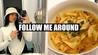 The BEST Chicken Noodle Soup Recipe VLOG