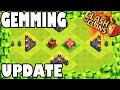 "Clash of Clans - NEW STUFF! ""GEMMING UPDATE!"" UNLOCKING + MAXING NEW DARK SPELL FACTORY & More!"