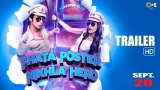 Official Trailer - Phata Poster Nikla Hero - Shahid Kapoor & Ileana D
