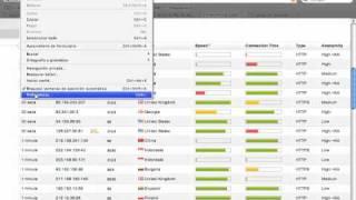 Navegar anonimamente por la red, servidor proxy