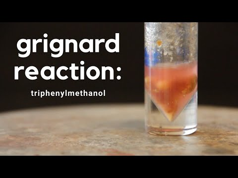 Grignard Reaction: Triphenylmethanol