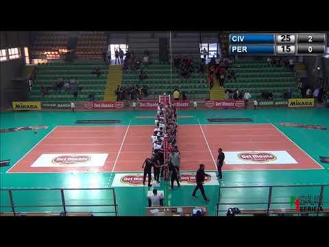 #delmontejunior #live Semifinale Campo1 - Civitanova - Perugia