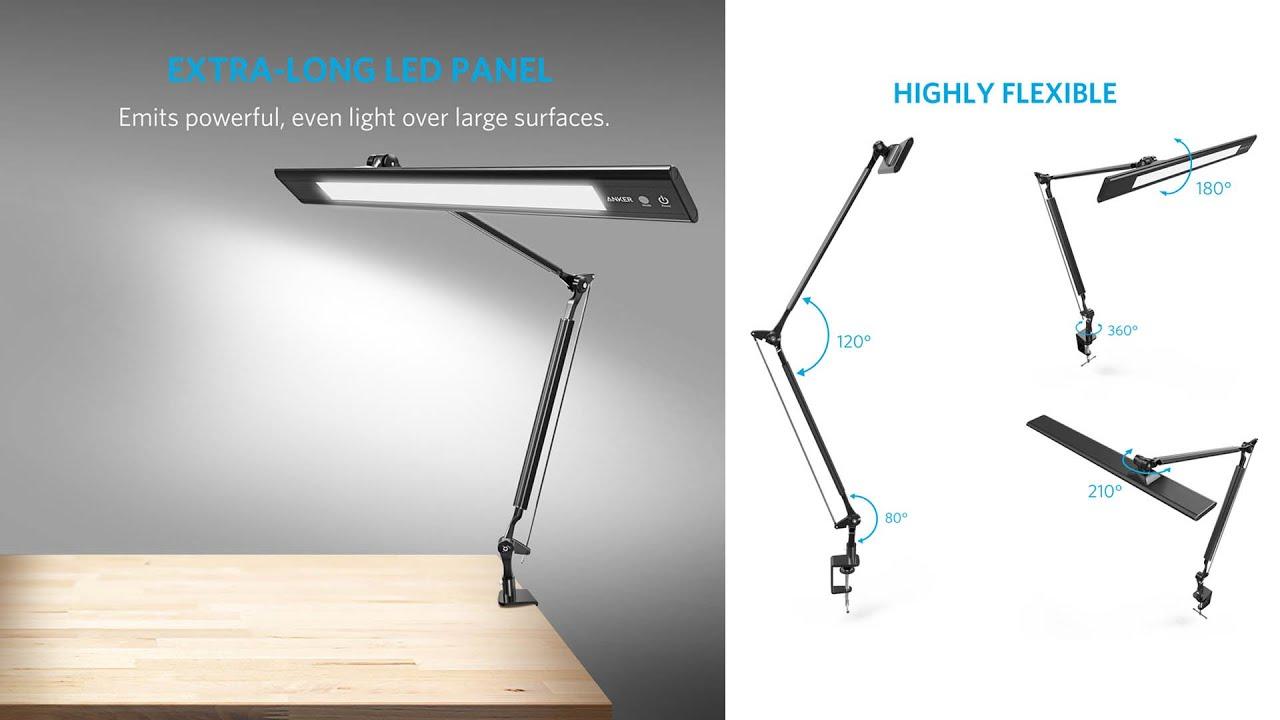 Anker Lumos E2 Led Desktop Lamp Product Review Youtube