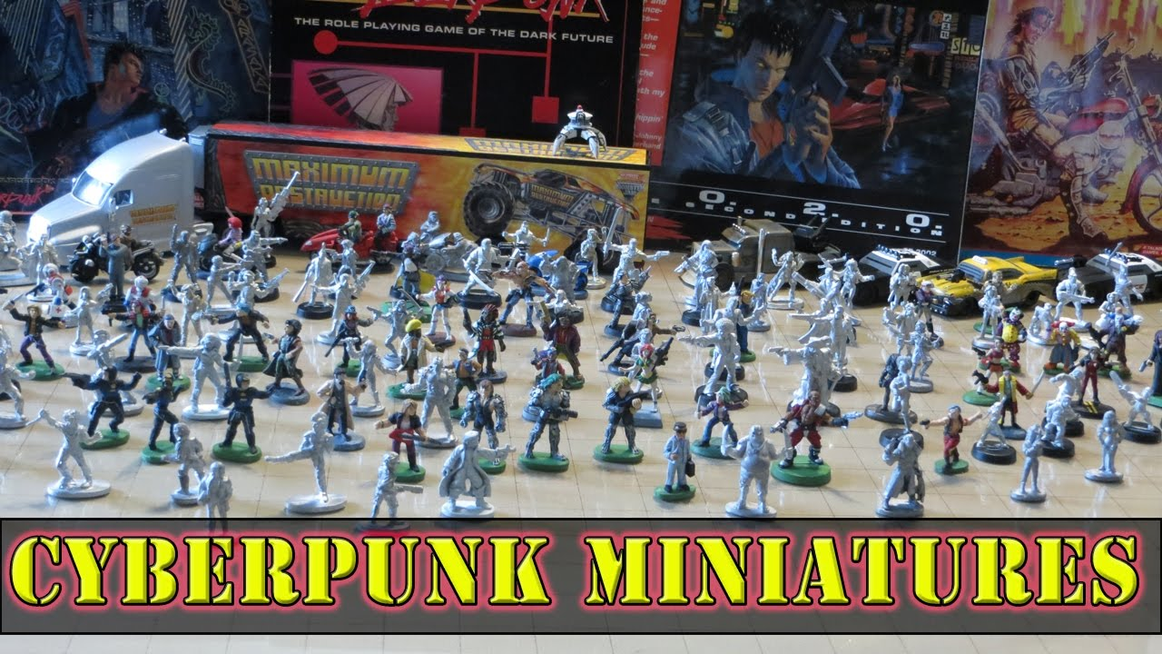 Best Tabletop Rpg 2020 Miniatures for Cyberpunk 2020 and Shadowrun   YouTube