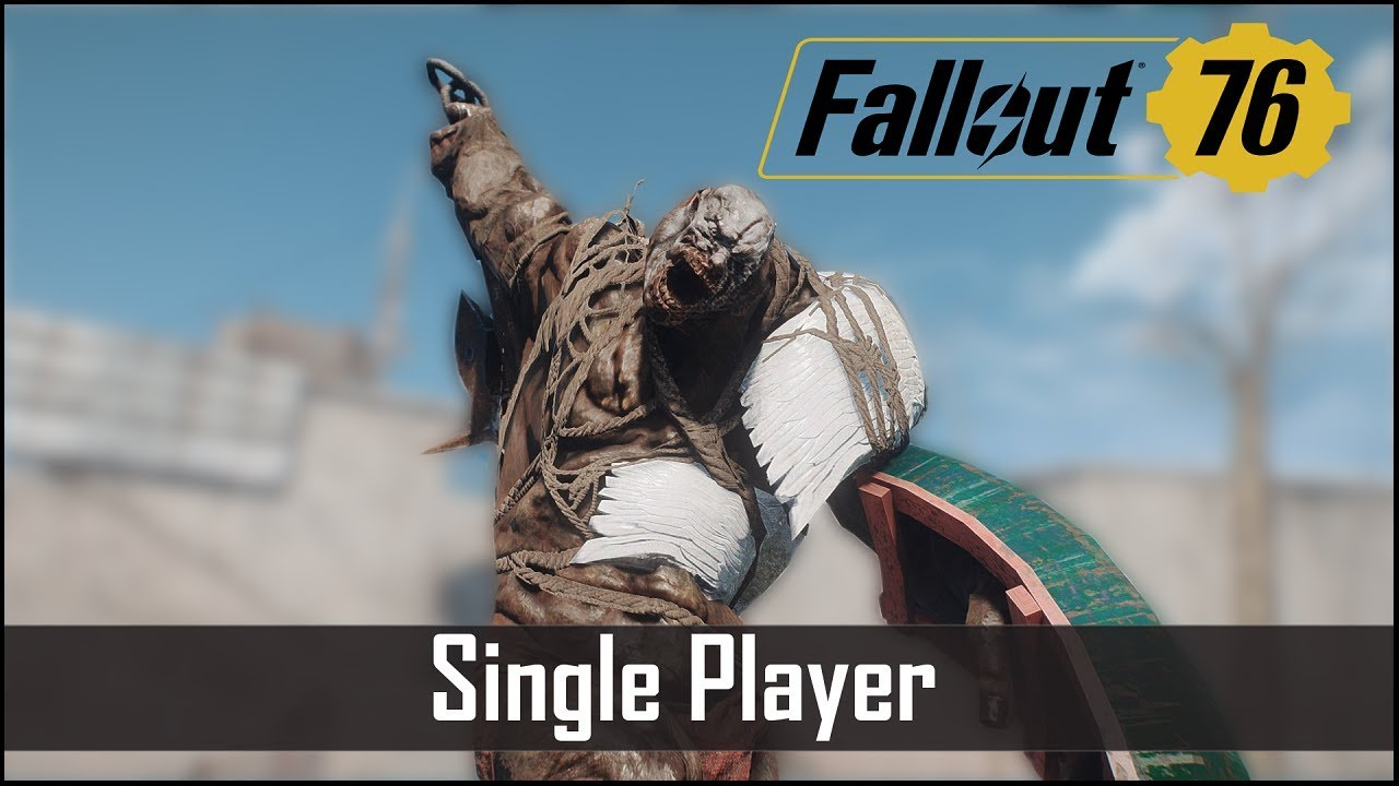 Fallout 76 – Why it Will be Single Player (Mostly ...