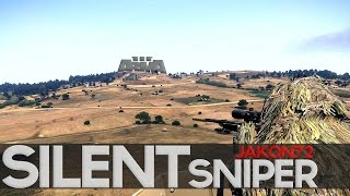 Suppressed Sniper! Arma 3 Battle Royale Gameplay