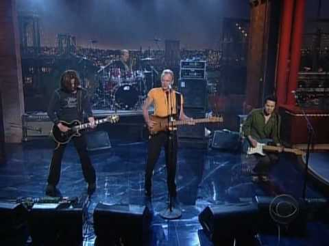 Late show With david Letterman 13 05 2005 Sting Next to you interview