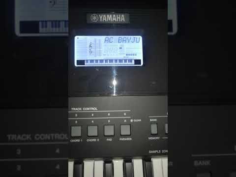Samplere Yamaha PSR