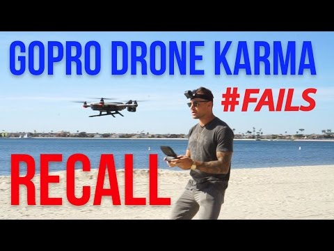 GoPro Karma Drone Recall! They Are Falling Out of The Sky!