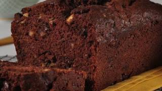 Chocolate Banana Bread Recipe Demonstration - Joyofbaking.com