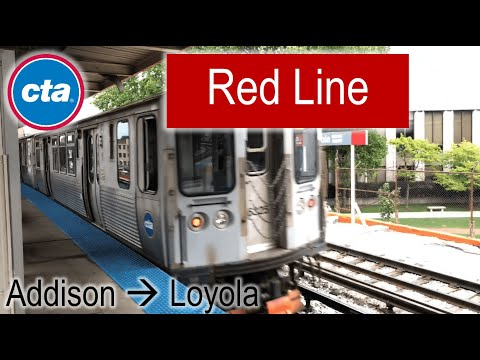 Let's Ride the Rail - CTA Red Line from Addison to Loyola