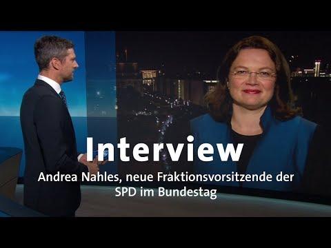 Interview: Andrea Nahles über künftige Opposition