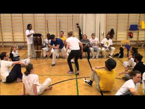 Roda at the event 25 years of Capoeira in Finland part 2