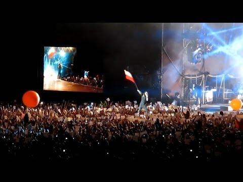 ☆☆☆☆☆ KONCERT 30 Seconds to Mars. Jared Leto in Poland / Rybnik 22.06.2014