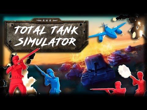 Jogando Total Tank Simulator Demo 5 - Campanha, Infantaria, Torre Eiffel e Caos Total!!
