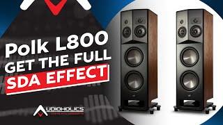 Polk L800 Speaker Review: Get the Full SDA Effect!