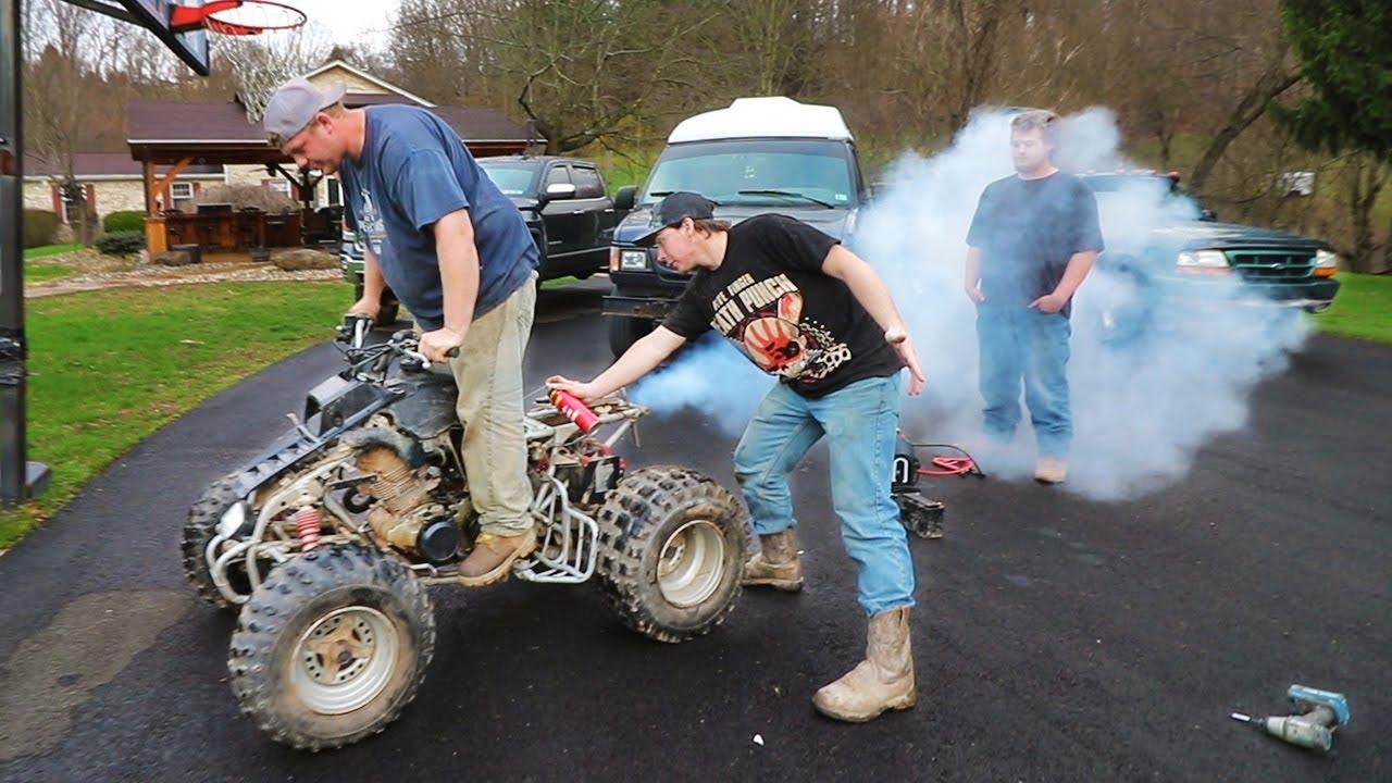 Fixing a $150 Vintage Race Quad!