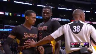 NBA Fight Jordan Clarkson vs. Goran Dragic 2016/2017 Season (HD)