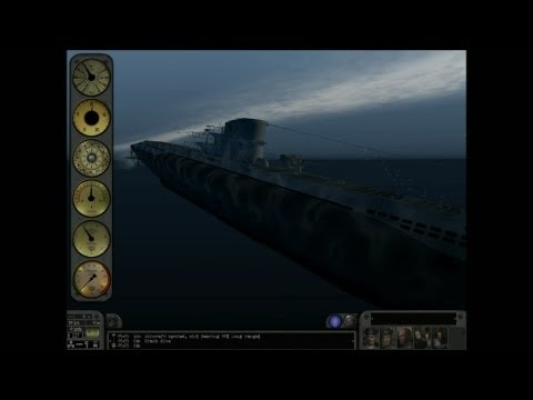Let's Play Silent Hunter III - Mediterranean -  Career 2 - Patrol 1 -Part 2