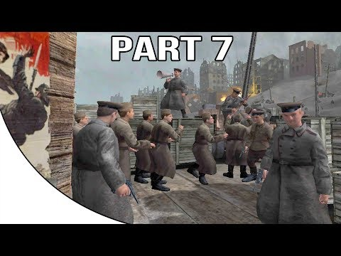 Call Of Duty 1 Gameplay Walkthrough Part 7 - Soviet Campaign - Stalingrad