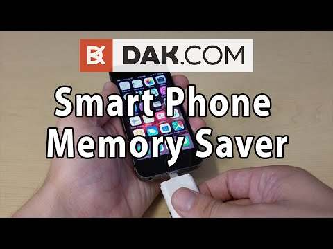 DAK Smart Phone Memory Saver: A Flash Drive for your iPhone