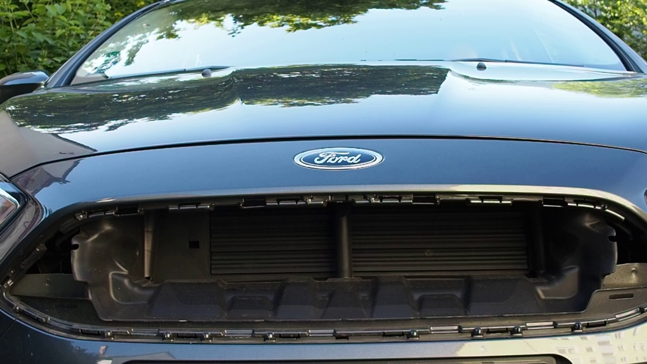 Ford Focus Active Grill Shutter Aerodynamics Start Stop Cycle