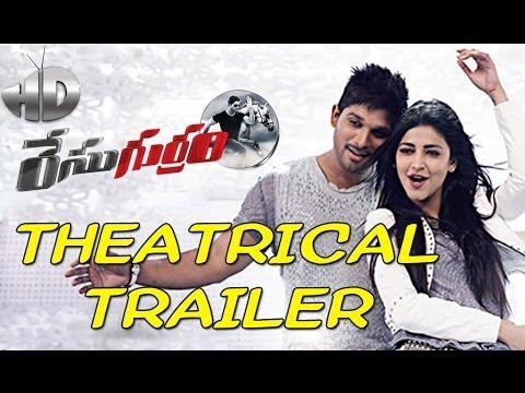 Race Gurram Theatrical Trailer HD - Allu Arjun, Shruti Haasan, Thaman thumbnail