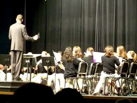 Ferguson Middle School band - Marching Song